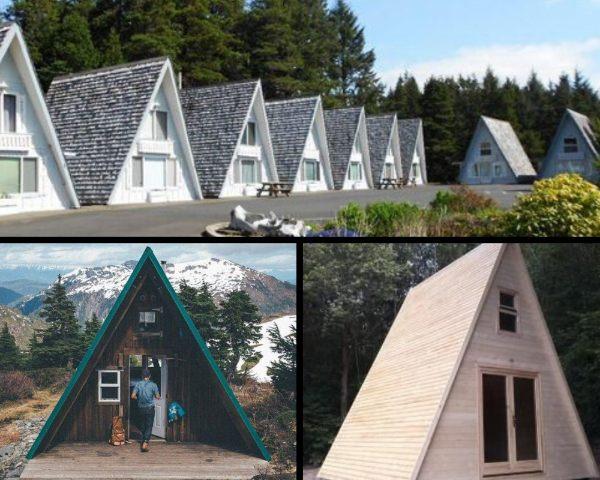 Casas prefabricadas tipo A en Chile