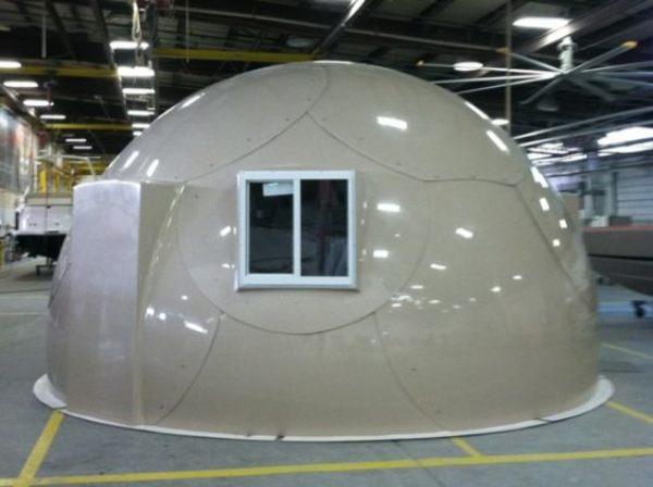 Construcción domos prefabricados