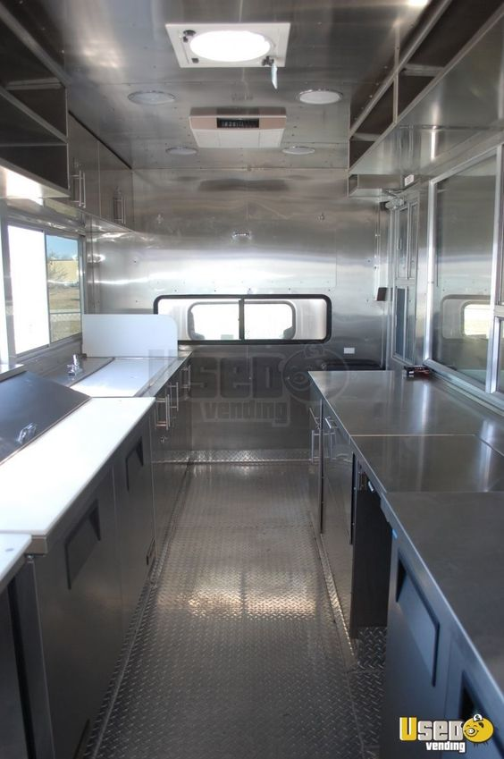 foodtruck interior